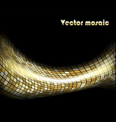 art mosaic vector image