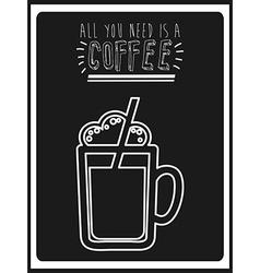 coffee icon vector image