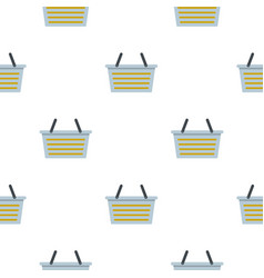 Flasket for dirty washing pattern flat vector