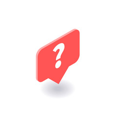 question mark icon symbol vector image