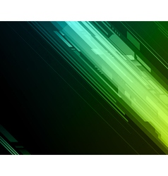 Abstract retro technology lines background vector image vector image