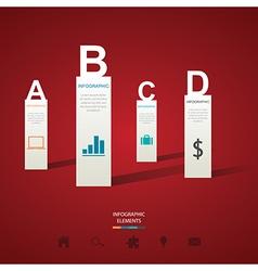 Modern Infographics vector image