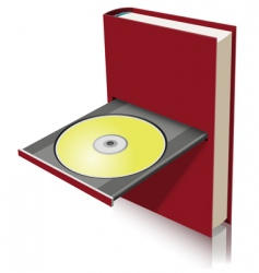 electronic book vector image