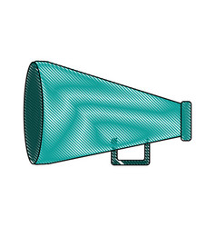 megaphone icon imag vector image vector image