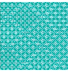 Abstract geometric pattern background green vector