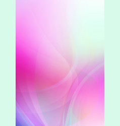 curved abstract soft colors background vector image