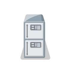 electronic strongbox icon in flat style vector image