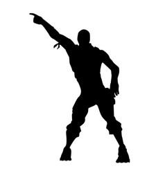Fortnite concept dance icon vector