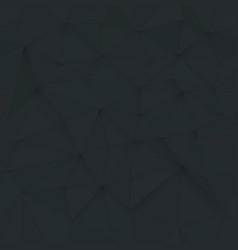 white 3d triangle pattern seamless white design vector image