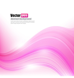 Abstract background ligth pink curve and wave vector