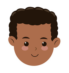 head face boy son kid image vector image vector image