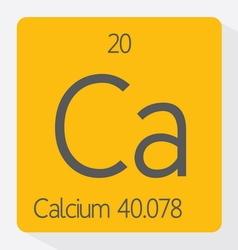 Calcium vector image