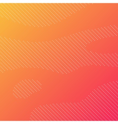 Dotted background with orange gradient vector image