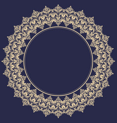 Elegant ornament in classic style vector