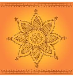 Indian flower vector