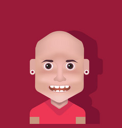 male avatar vector image