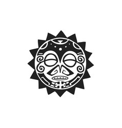 polynesian tattoo indigenous primitive art vector image