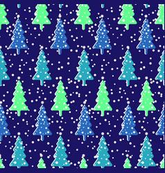 seamless repeating background imitating snowfall vector image