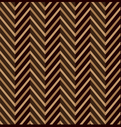 Zig zag brown seamless pattern vector