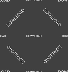 Download icon Upload button Load symbol Seamless vector image