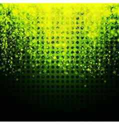 glowing neon background vector image vector image