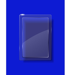 Glass plate vector