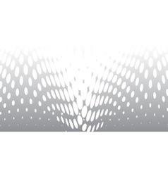 Half Tone Twist vector image vector image