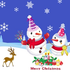 Merry Chiristmas vector image