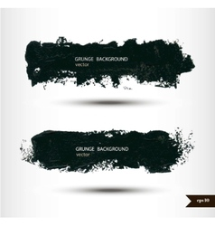 Splash banners Watercolor background Grunge vector