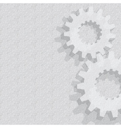 Gears Background Under construction blueprint vector image