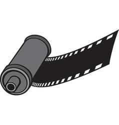 Camera Film Roll Icon vector image