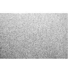 halftone effect monochrome dotted background vector image vector image