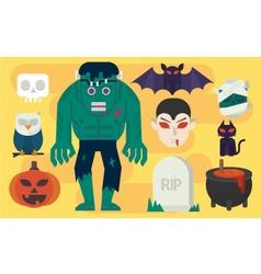 Cartoon Halloween Elements vector