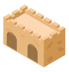 Castle archway vector