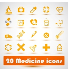 Medical icon 2 vector image
