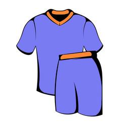 Sport uniform icon icon cartoon vector