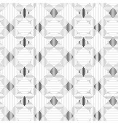 Striped geometric pattern - seamless vector