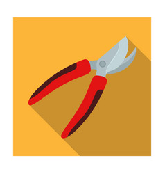 garden shears for hacking shrubs scissors for vector image