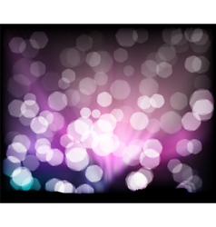 abstract background lights vector image vector image