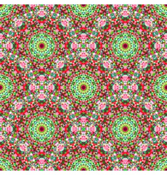 Seamless Color Geometric Pattern vector image vector image