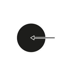 log in enter icon vector image
