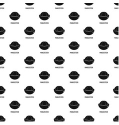 mangosteen pattern seamless vector image