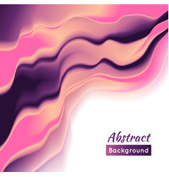 Wave background smooth play color vector