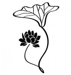 lotus vector vector image vector image