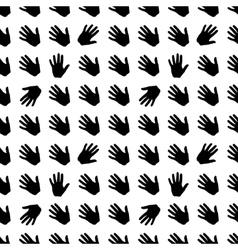 seamless pattern brush vector image