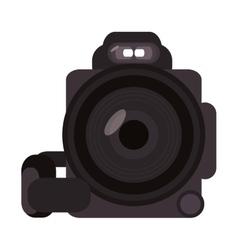 digital videocamera icon vector image