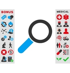 Find Icon vector image