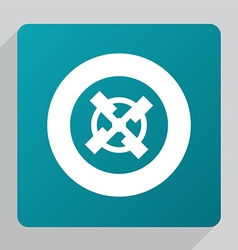 flat mill icon vector image