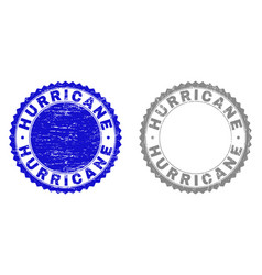 Grunge hurricane scratched watermarks vector