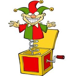 Jack in box vector